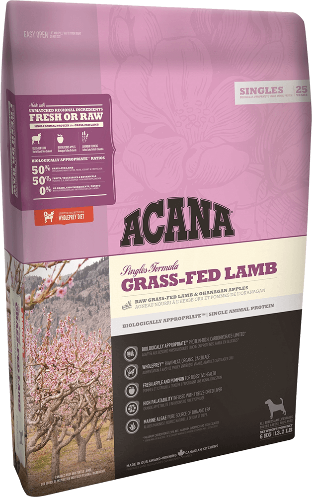 Корм для собак Acana Grass-Fed Lamb 31/15, 6 кг