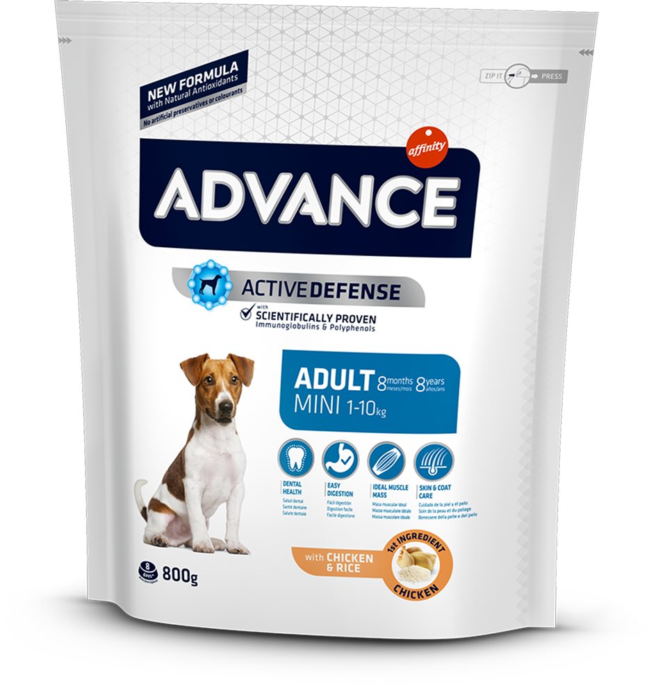 Корм для собак Advance Dog Mini Adult 800 г