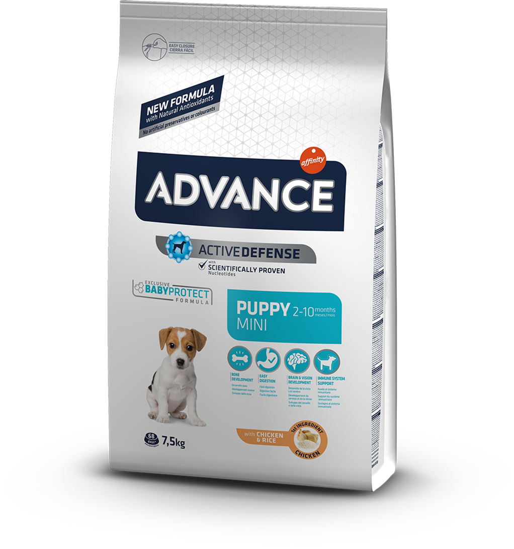 Корм для собак Advance Mini Puppy 7,5 кг