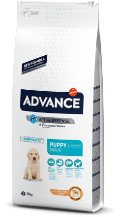 Корм для собак Advance Dog Maxi Puppy 18 кг