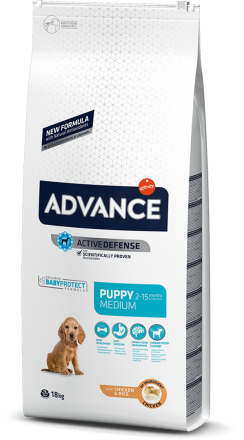 Корм для собак Advance Dog Medium Puppy 18 кг