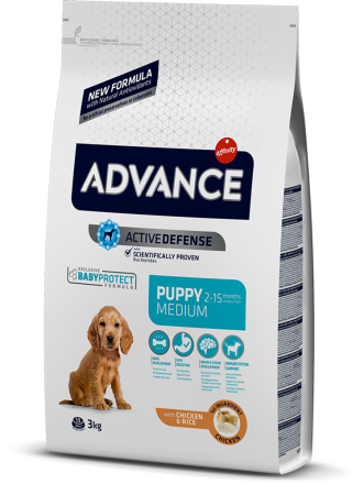 Корм для собак Advance Dog Medium Puppy 3 кг
