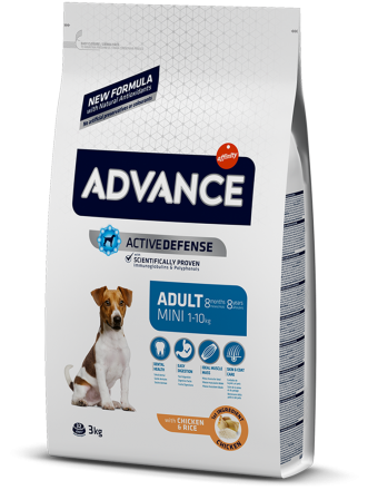 Корм для собак Advance Dog Mini Adult 3 кг