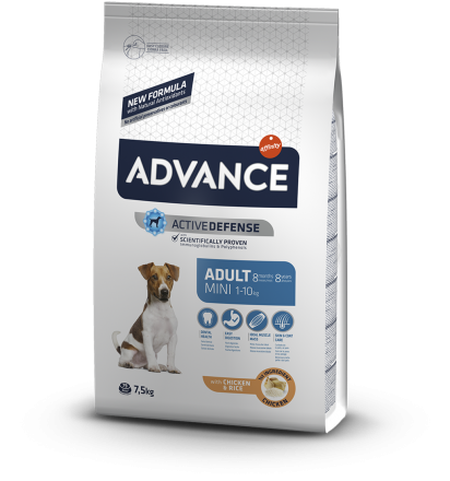 Корм для собак Advance Dog Mini Adult 7,5 кг