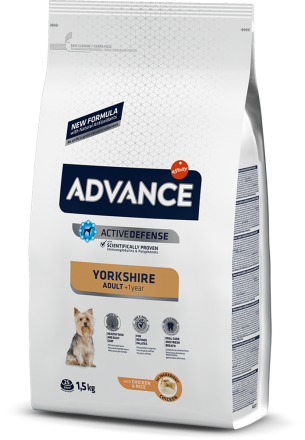 Корм для собак Advance Dog Yorkshire Terrier 1,5 кг
