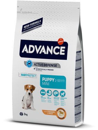 Корм для собак Advance Mini Puppy 3 кг