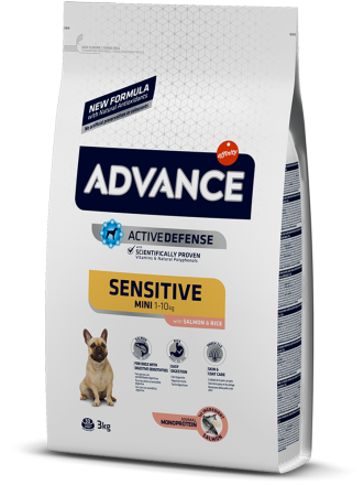 Корм для собак Advance Mini Sensitive 3 кг