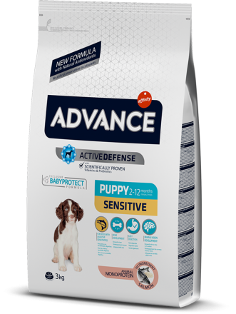 Корм для собак Advance Puppy Sensitive 3 кг