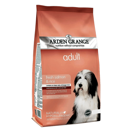 Arden Grange Adult Dog Salmon & Rice 2 кг - корм Арден Гранж для привередливых собак