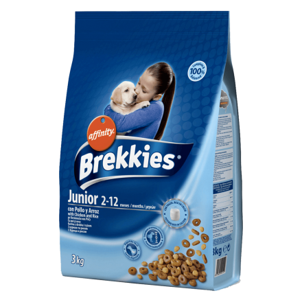 Корм для собак Brekkies Excel Dog Junior 3 кг