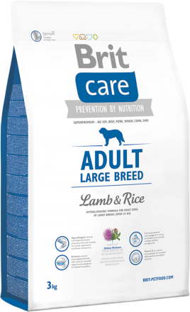 Корм для собак Brit Care Adult Large Breed Lamb and Rice, 3 кг