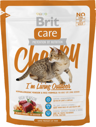 Корм для кошек Brit Care Cat Cheeky I am Living Outdoor, 400 г