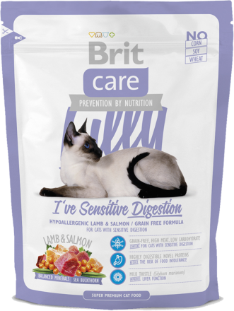 Корм для кошек Brit Care Cat Lilly I have Sensitive Digestion, 400 г