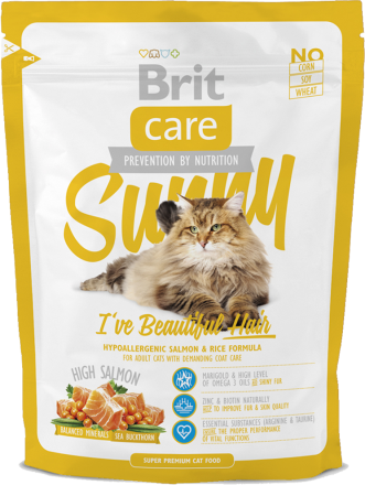 Корм для кошек Brit Care Cat Sunny I have Beautiful Hair, 400 г