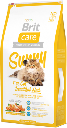 Корм для кошек Brit Care Cat Sunny I have Beautiful Hair, 7 кг