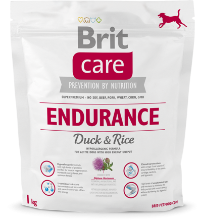 Корм для собак Brit Care Endurance Duck & Rice, 1 кг