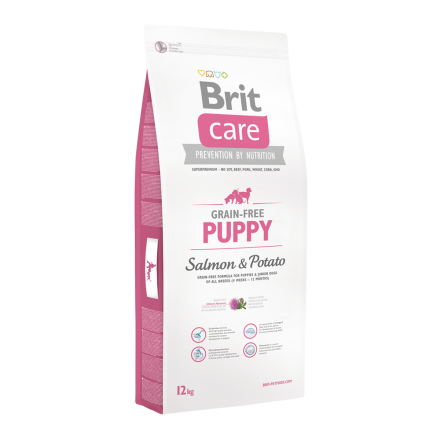 Корм для собак Brit Care Grain-free Puppy Salmon & Potato, 12 кг