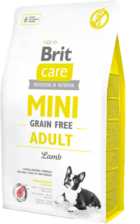 Корм для собак Brit Care Mini Grain Free Adult Lamb, 2 кг