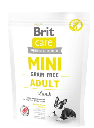 Корм для собак Brit Care Mini Grain Free Adult Lamb, 400 г