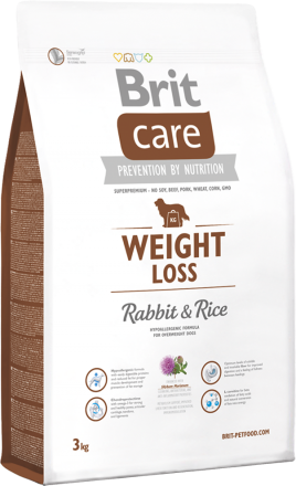 Brit Care Weight Loss Rabbit & Rice, 3 кг