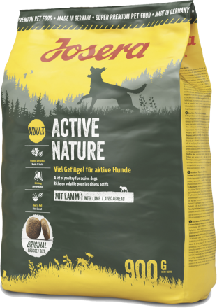 Корм для собак Josera Active Nature 900 г