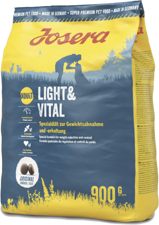 Корм для собак Josera Light & Vital 900 г