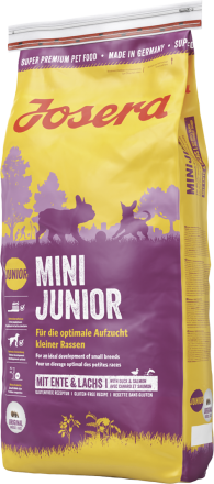 Корм для собак Josera Mini Junior 15 кг