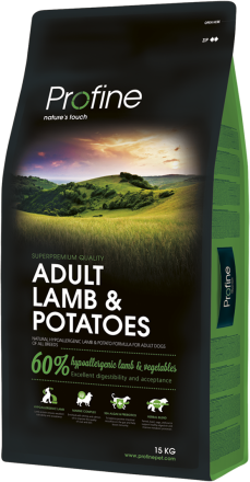 Корм для собак Profine Dog Adult Lamb & Potatoes 15 кг