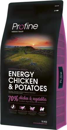 Корм для собак Profine Dog Energy Chicken & Potatoes 15 кг
