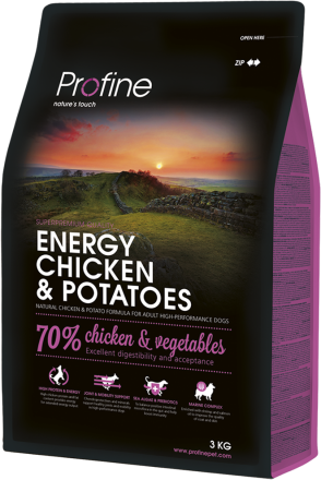 Корм для собак Profine Dog Energy Chicken & Potatoes 3 кг