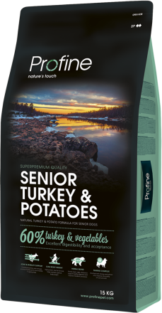 Корм для собак Profine Dog Senior Turkey & Potatoes 15 кг