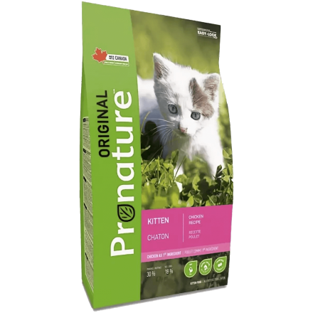 Pronature Original Kitten Chicken, 340 г - корм Пронатюр Ориджинал для котят