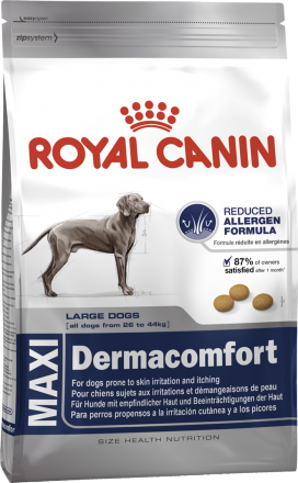 Корм для собак Royal Canin Maxi Dermacomfort 12 кг