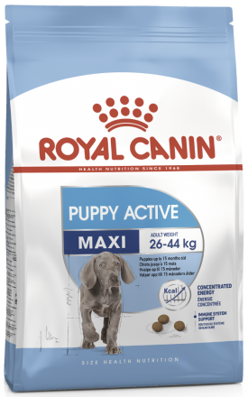 Корм для собак Royal Canin Maxi Junior Active (Puppy Active) 15 кг