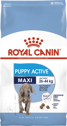 Корм для собак Royal Canin Maxi Puppy Active 15 кг