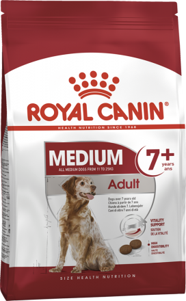 Корм для собак Royal Canin Medium Adult 7+ 4 кг
