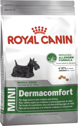 Корм для собак Royal Canin Mini Dermacomfort 800 г