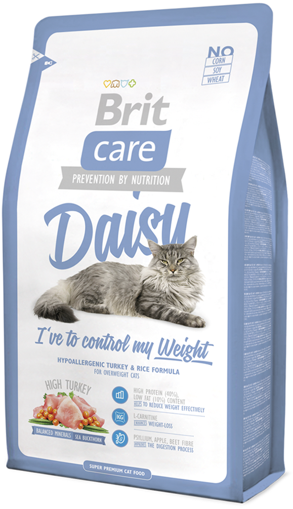 Корм для кошек Brit Care Cat Daisy I have to control my Weight, 2 кг