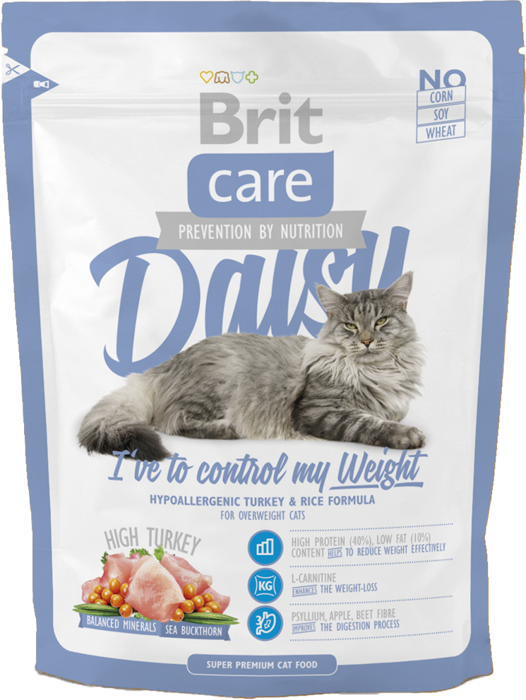 Корм для кошек Brit Care Cat Daisy I have to control my Weight, 400 г