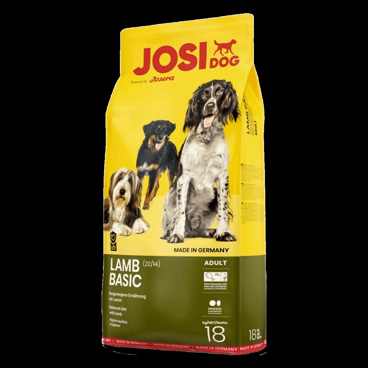 Josera JosiDog Lamb Basic 22/14, 18 кг - корм Йозера для ...