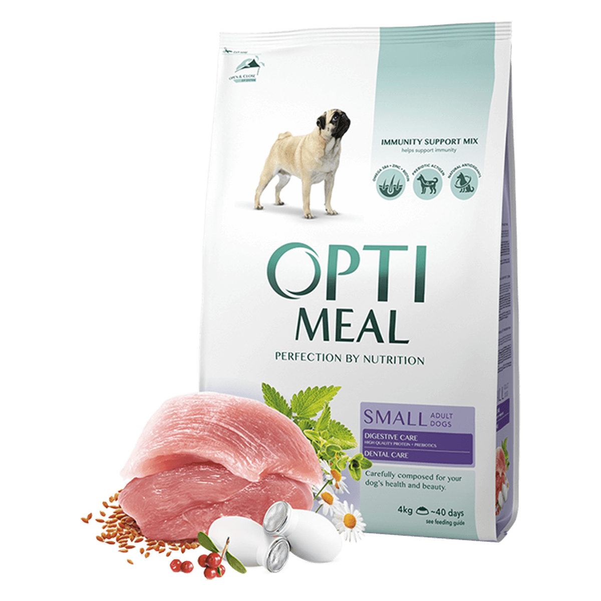 Корм для собак Optimeal Dog Adult Small, 12 кг