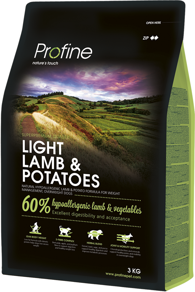 Корм для собак Profine Dog Light Lamb & Potatoes 3 кг