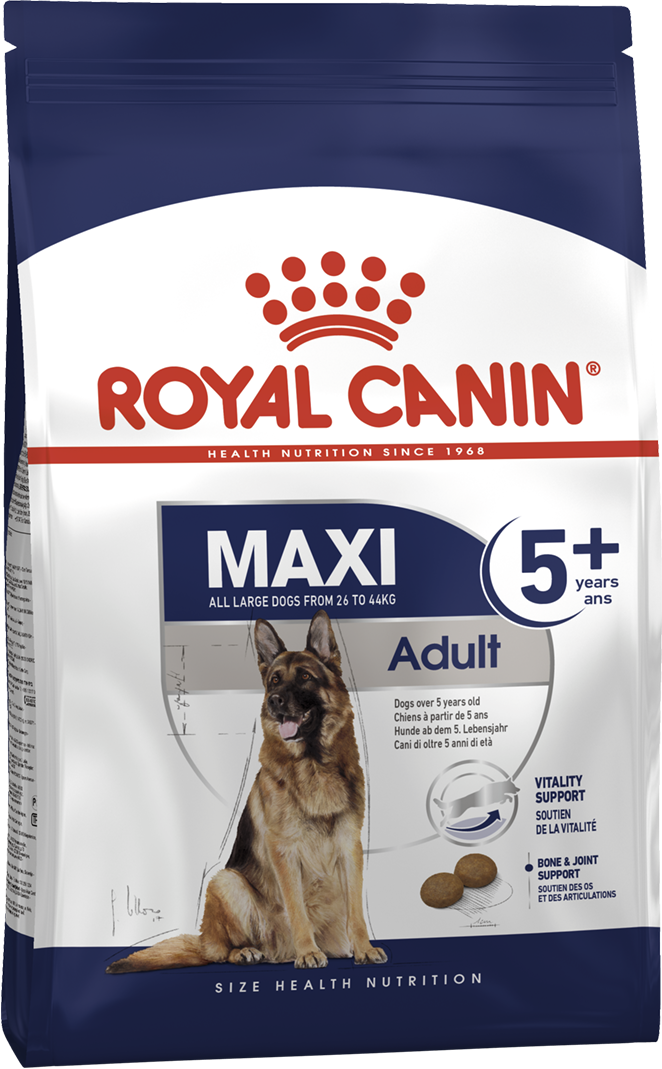 Корм для собак Royal Canin Maxi Adult 5+ 15 кг