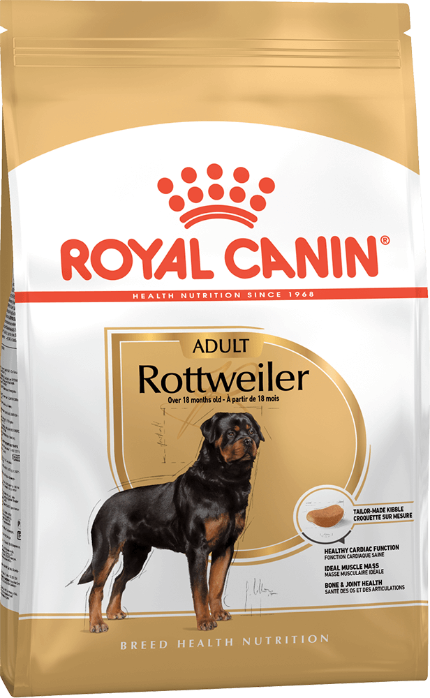 Корм для собак Royal Canin Rottweiler Adult 3 кг