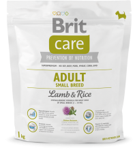 Корм для собак Brit Care Adult Small Breed Lamb and Rice, 1 кг