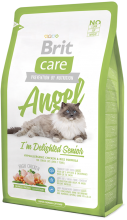 Корм для кошек Brit Care Cat Angel I am Delighted Senior, 2 кг