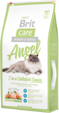 Корм для кошек Brit Care Cat Angel I am Delighted Senior, 7 кг