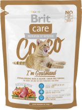 Корм для кошек Brit Care Cat Cocco I am Gourmand, 400 г