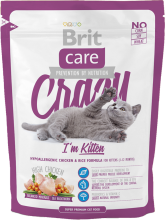 Корм для кошек Brit Care Cat Crazy I am Kitten, 400 г