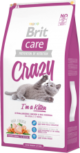 Корм для кошек Brit Care Cat Crazy I am Kitten, 7 кг